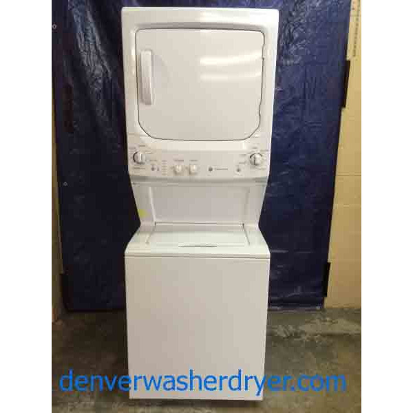 Like New 2013 Ge Stackable Washer Dryer Combo Perfect