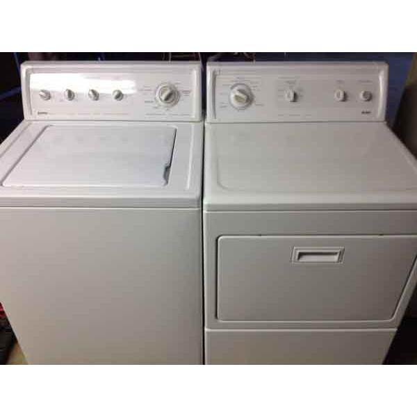 Kenmore 90 Series Washer Kenmore Elite Dryer 117