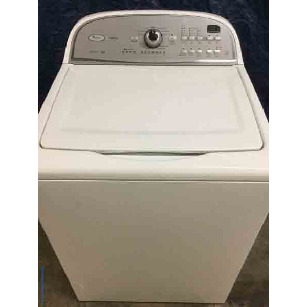 Whirlpool Cabrio 3.6 Cu. Ft. Washer, White, HE, Energy Star with 6 Month Warranty