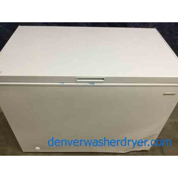 Brand-New Chest Freezer, 10 Cu. Ft., Scratch & Dent Special