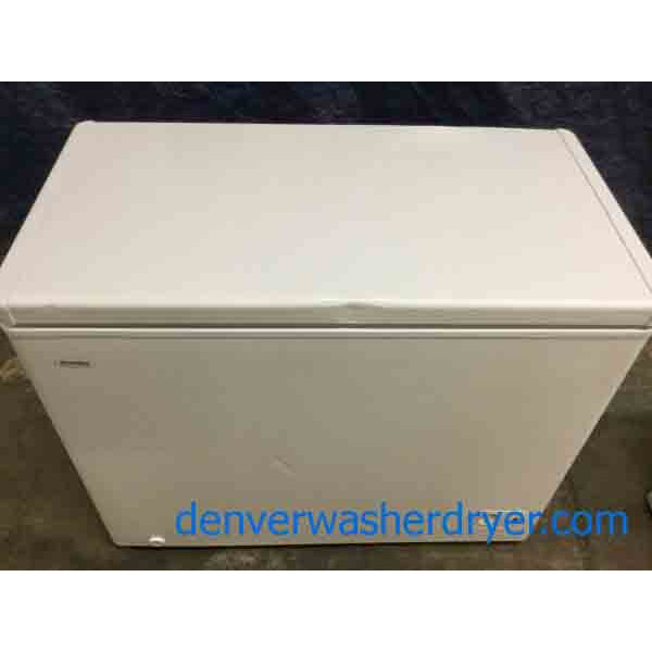 Danby Chest Freezer, White, 7 Cu. Ft., Scratch & Dent Special