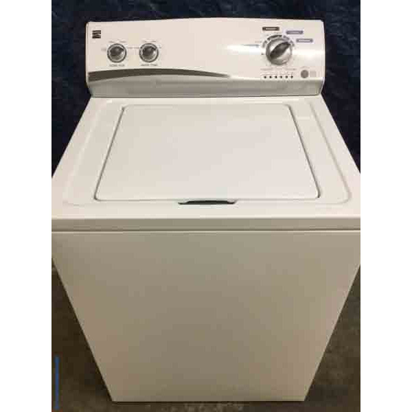 White Kenmore Washer, Super Capacity! Bargain Appliance w/ 6-Month Warranty