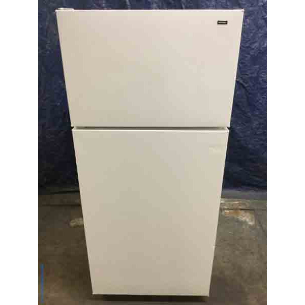 Refrigerator 17 Cu Ft Hotpoint Ge White Clean And