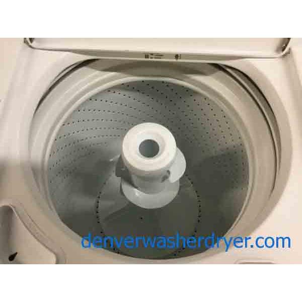 Full Size Whirlpool Laundry Set Super Capacity Washer
