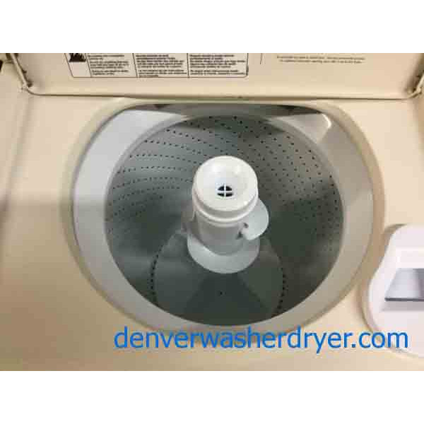 Whirlpool Direct Drive Washer Electric Dryer Almond