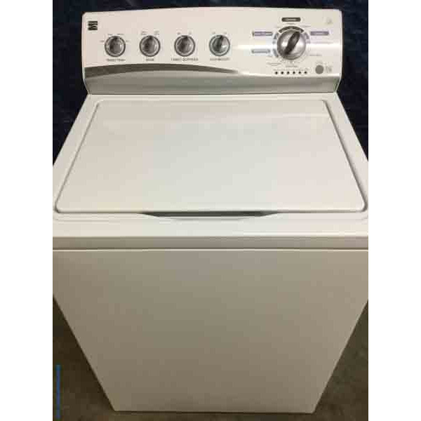 Kenmore Washing Machine, High Efficiency, Energy Star, Full-Size, Super Capacity- 5 year