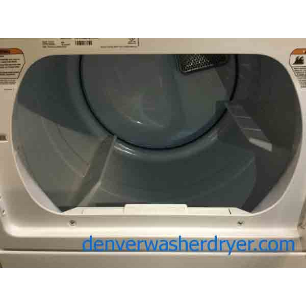 Maytag Bravos X Washer Dryer Set Commercial Technology