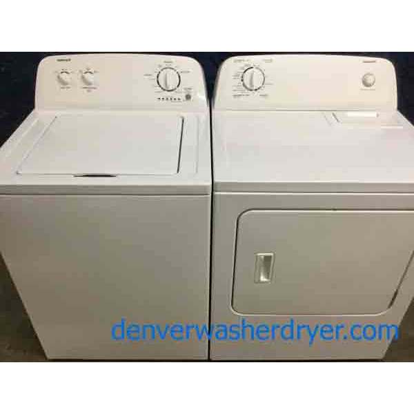 Perfect Admiral(Maytag) Washer & Dryer Set, Electric, White, Super Capacity, 1-Year Warranty!