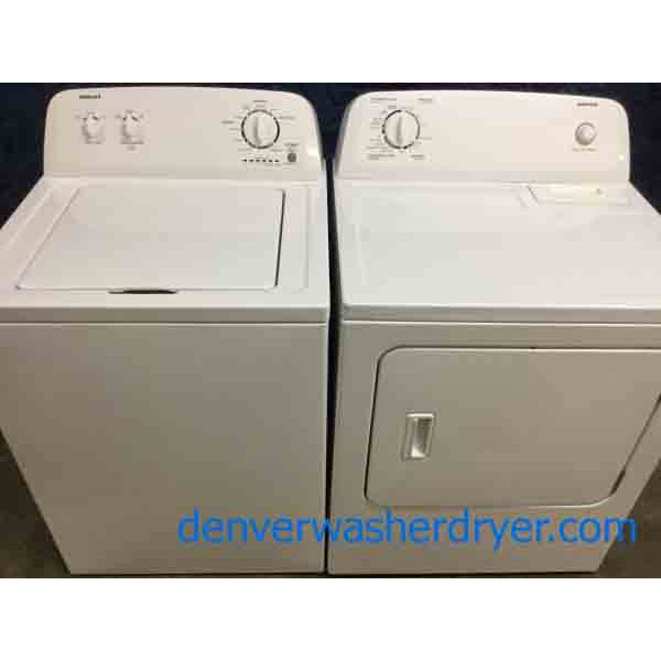 Full-Sized Washer, Electric Dryer Set by Admiral(Maytag)