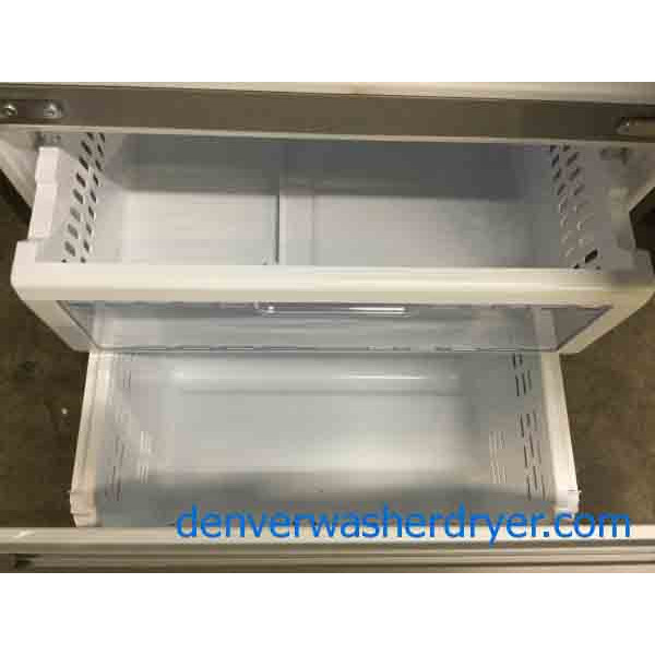 Ft. French Door Refrigerator, Stainless, 32u2033 Wide By ...