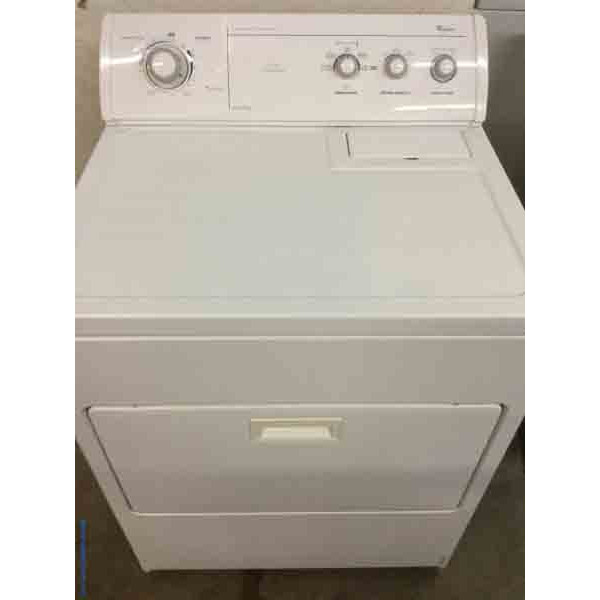 MIX MATCHED- Commercial Quality Whirlpool Dryer, Electric, Super Capacity Plus,&Single Whirlpool 4.3 Cu.Ft. Washer 1-Year Warranty!