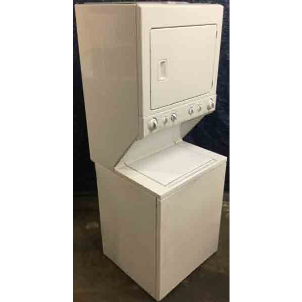 Full-Size 27″ Frigidaire Stacked Laundry Center, 220V, Commercial Heavy Duty, 1-Year Warranty!