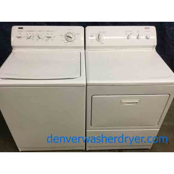 King Size Kenmore Elite Washer Dryer Set, +New Incredible Insignia Freezer