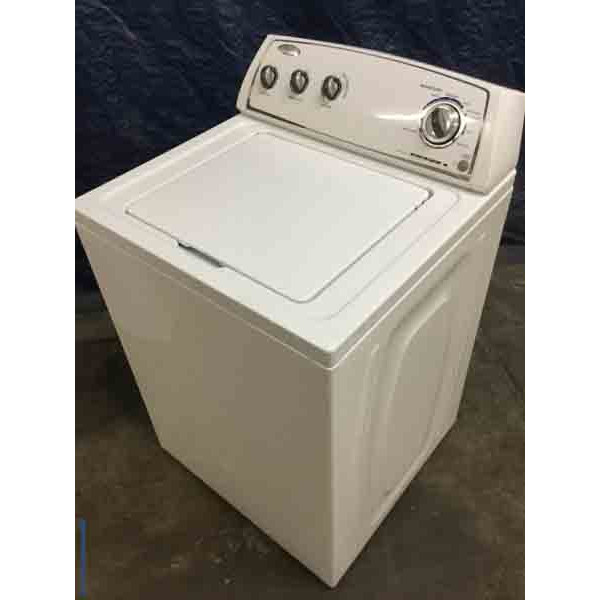 Super Capacity Whirlpool Washing Machine with Agitator,