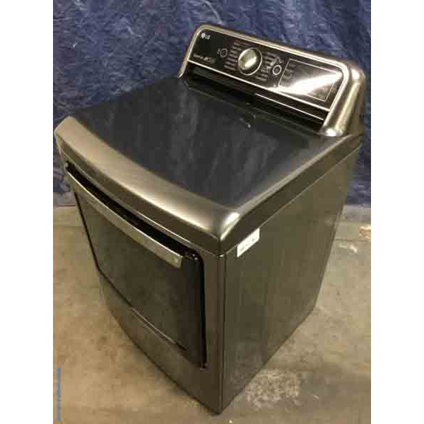 Incredible LG Electric Dryer, High-End, Turbo Steam, Energy Star, Dual-Open Door