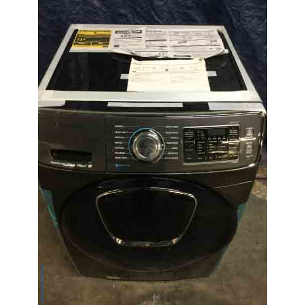 Brand New Samsung Front-Load Washing Machine, Steam Cycles, 4.5 Cu. Ft., Add Wash, 1-Year Warranty!