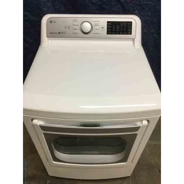 High-End LG Dryer, New, Electric, 7.3 Cu. Ft., HE Sensor Drying, 1-Year Warranty!