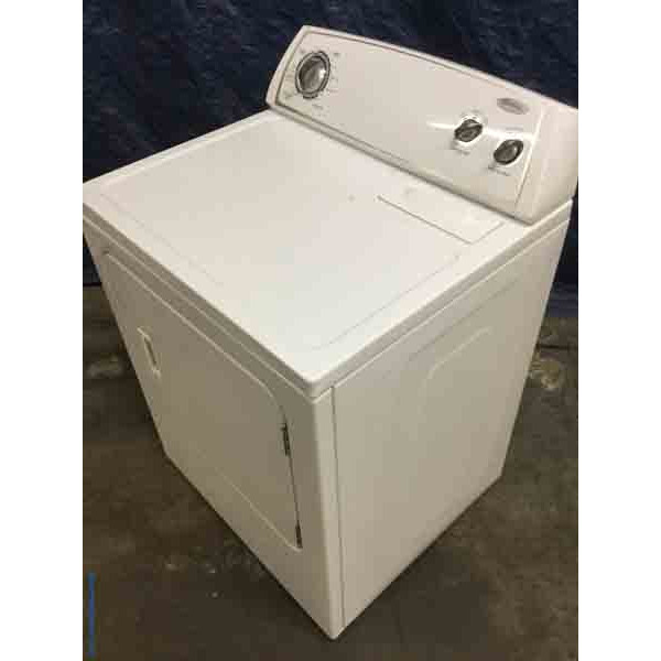 Hot Whirlpool Dryer, Electric, Super Capacity, Quality Refurbished, 1-Year Warranty