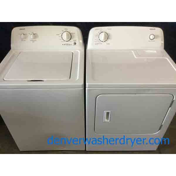 Admiral(Maytag) Washer Dryer Set, Electric, Full-Size, 1-Year Warranty!