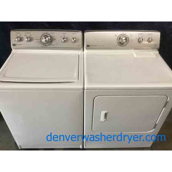 Heavy-Duty Maytag Direct-Drive Washer, Electric Dryer, Energy Star, Quality Refurbished