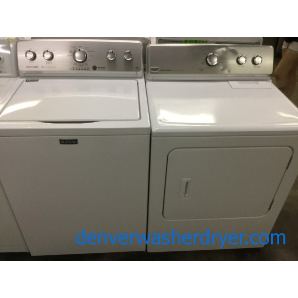 Maytag Centennial Laundry Pair, HE Washer, Electric Dryer, Commercial Technology, Quality Refurbished, 1-Year Warranty!