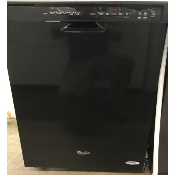 Brand Spankin' New Whirlpool Dishwasher, Black, Plastic Tub, Front-Control, Perfectly Working, 1-Year Warranty!