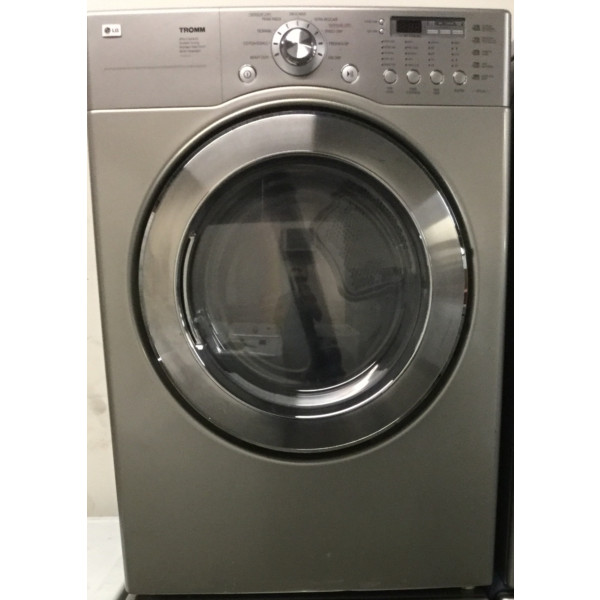 27″ Front-Load Stackable LG Electric Dryer, Quality Refurbished, 1-Year Warranty!