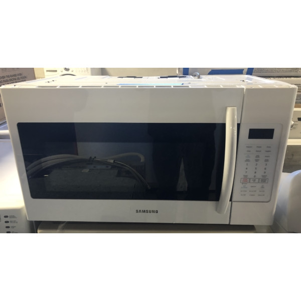 Brand-New Samsung 30″ Over-the-Range (1.8 Cu. Ft.) Microwave w/Sensor Cooking, 1-Year Warranty