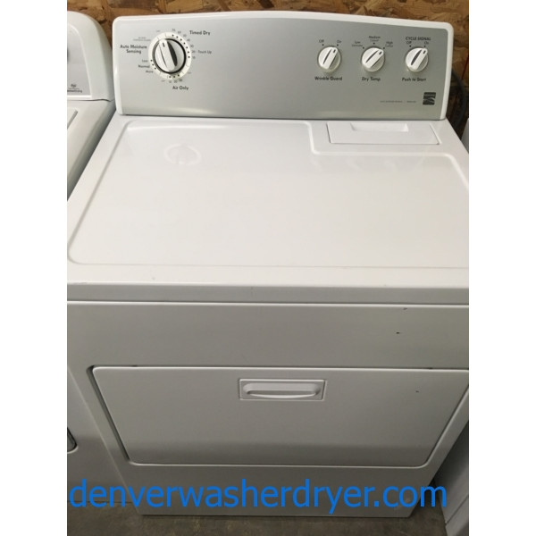 Superb Kenmore Electric Dryer, 29″ Wide, 7 Cu. Ft., Clean, Hot, Ready To Rock Your Socks!