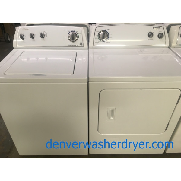 Quality Refurbished Whirlpool Top Load Washer Amp Electric