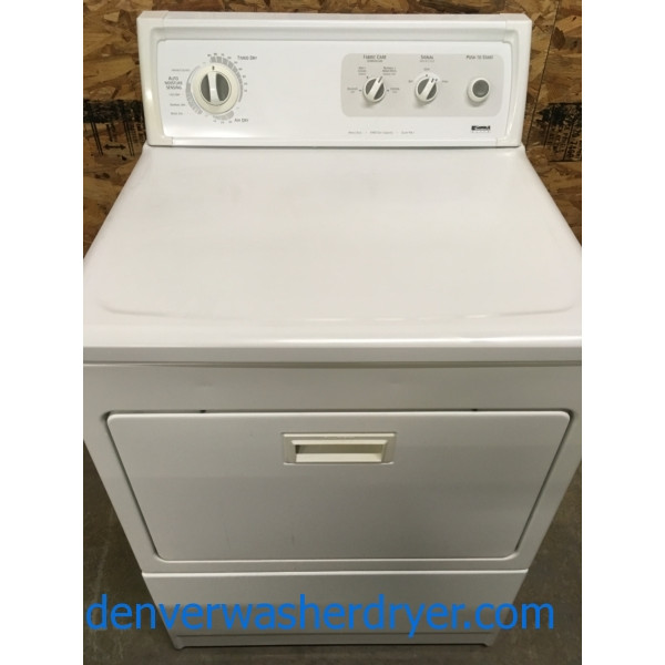 Heavy-Duty Kenmore Quality Refurbished Electric Dryer, 1-Year Warranty