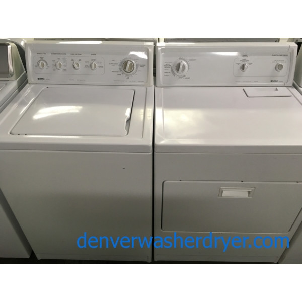 The Best Set Ever Made! Kenmore Washer Dryer Set, Direct-Drive, Heavy-Duty, Electric, Quality Refurbished! 1-Year Warranty!