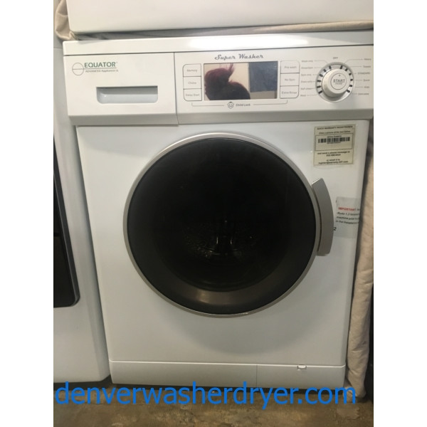 Brand-New 24″ Equator Front-Load Washer, 1-Year Warranty