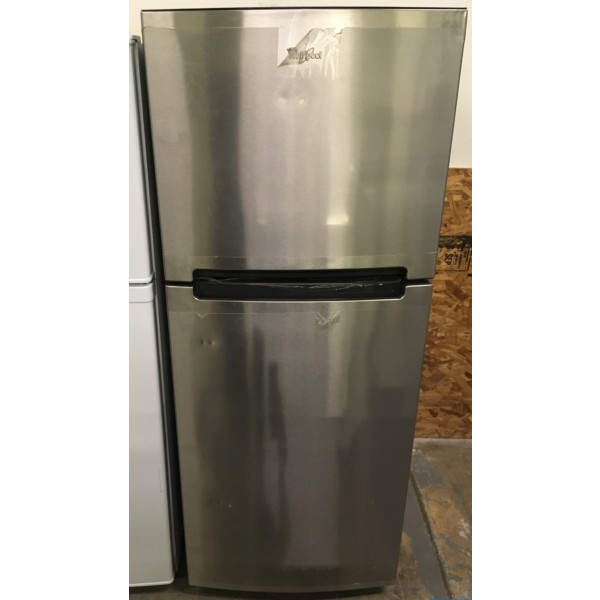 25″ BRAND-NEW Whirlpool Top-Freezer (10.7 Cu. Ft.) Refrigerator, 1-Year Warranty