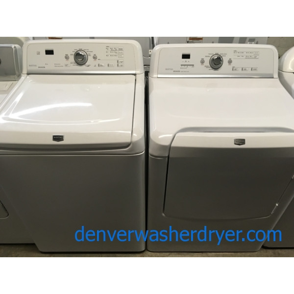 Marvelous Maytag Direct-Drive HE Washer, Electric Dryer, Quality Refurbished, 1-Year Warranty!