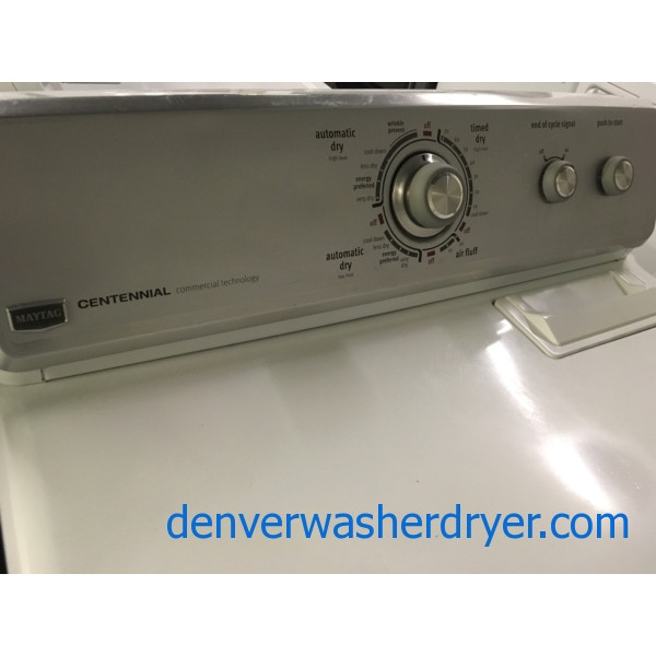 Mighty Maytag Centennial Dryer w/ 1-Year Warranty