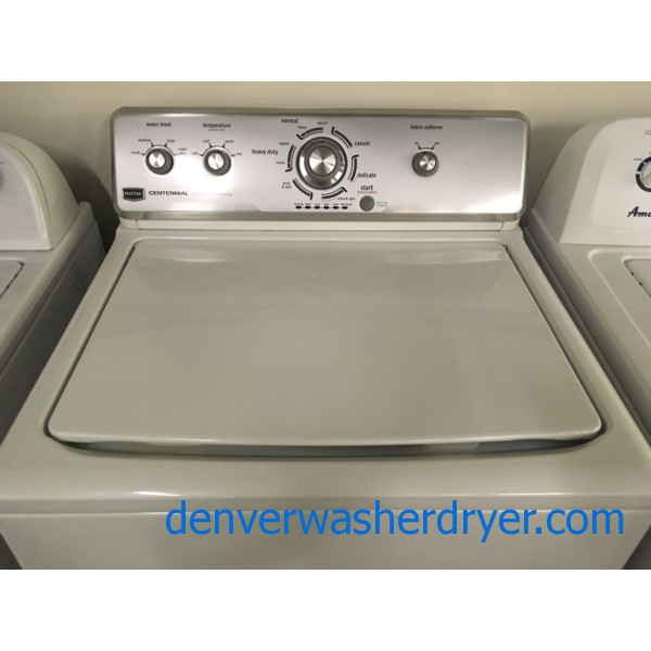 Top-Load Maytag Washing Machine with Agitator, Commercial Technology, Quality Refurbished, 1-Year Warranty!