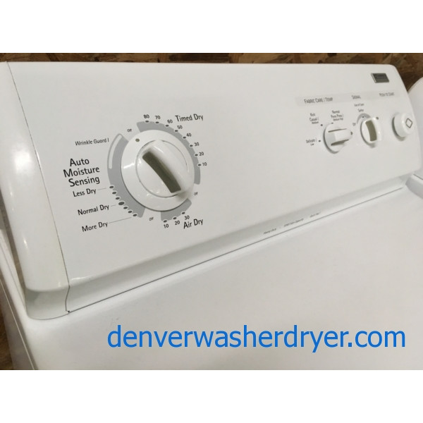 27″ Kenmore (Whirlpool) Electric Dryer, KING Size Capacity, Quality Refurbished, 1-Year Warranty!