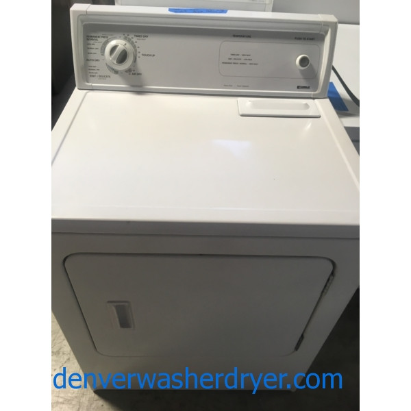 Single Electric Dryer, 29″ Kenmore, Quality Refurbished, 1-Year Warranty
