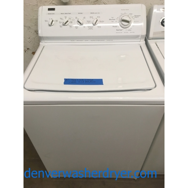 Heavy-Duty Kenmore Elite Set, Direct-Drive Washer, 27″ 220V Dryer