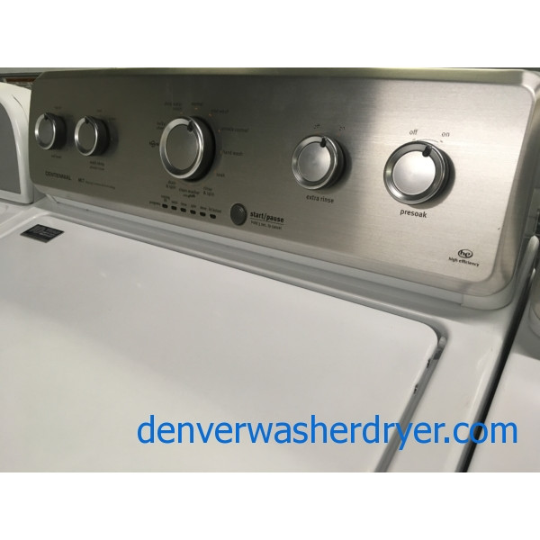 Maytag Commercial Technology Washer/ Dryer Set, HE, Energy Star, Quality Refurbished, 1-Year Warranty!