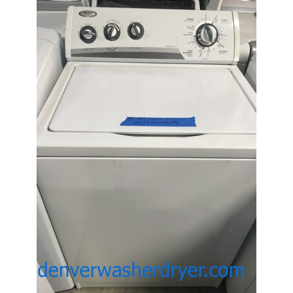 Heavy-Duty Direct-Drive Whirlpool Washer