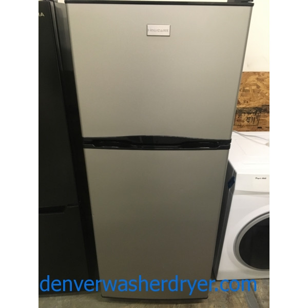 Top-Mount Frigidaire Refrigerator, Smudge-Proof Stainless, Quality Refurbished, 1-Year Warranty!