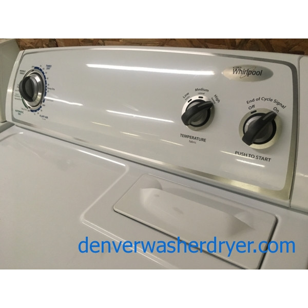 Fabulous Whirlpool Dryer, 29″,  Super Capacity, Quality Refurbished, 90-Day Warranty