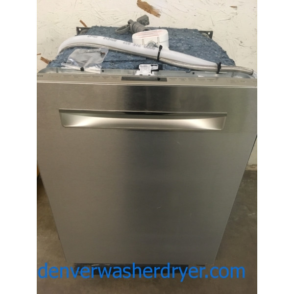 New Bosch Stainless Dishwasher