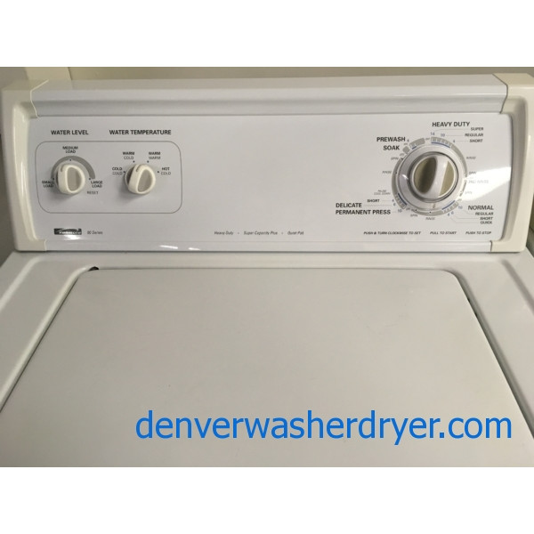 Great Kenmore 80 Series Washer, Heavy-Duty, Direct-Drive