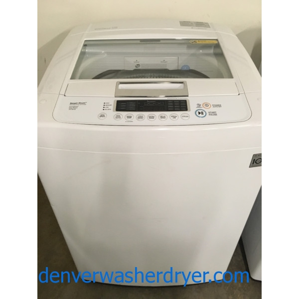 LG Top-Load Washer, Direct-Drive, HE, Quality Refurbished, 1-Year Warranty!
