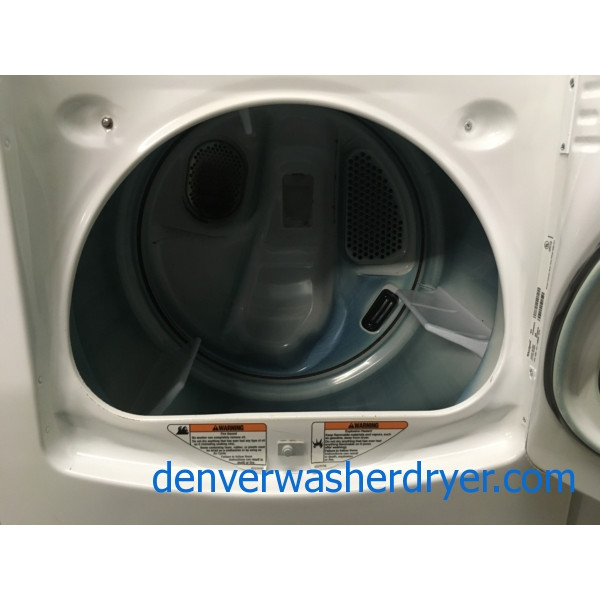 Awesome Whirlpool Cabrio, 220V, 29″, Wrinkle Guard, Quality Refurbished, 1-Year Warranty!