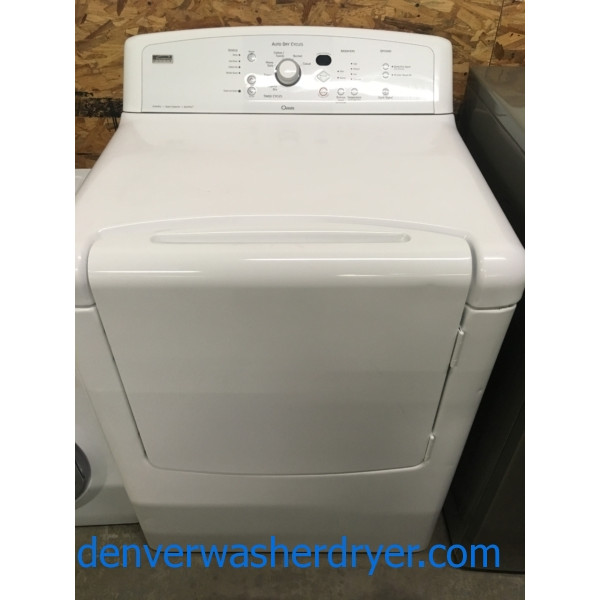 Kenmore ELITE Oasis Dryer, 29″, 220V, Wrinkle Guard, Super Capacity, Quality Refurbished, 1-Year Warranty!