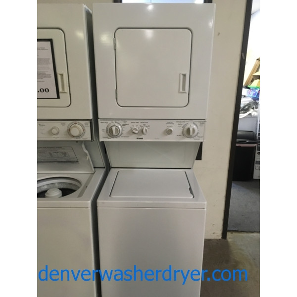 Heavy-Duty Kenmore Unitized Washer/Dryer, Capacity 1.5 Cu.Ft., Quality Refurbished, 1-Year Warranty!
